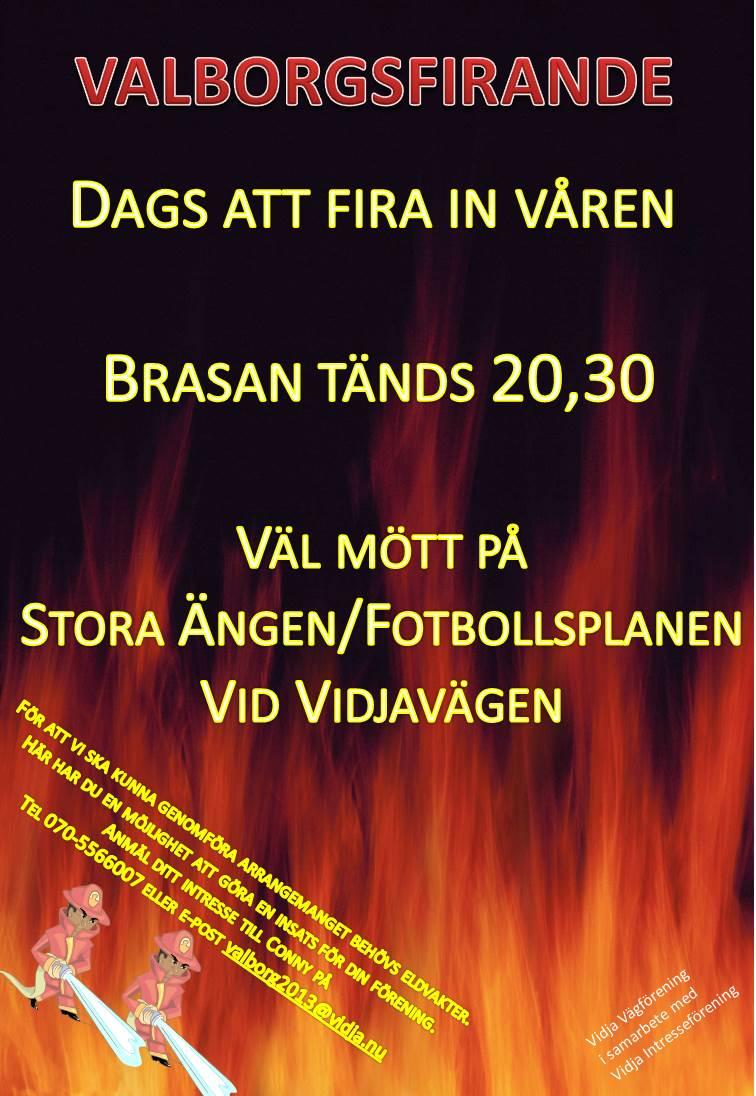 valborgsfirande 2013