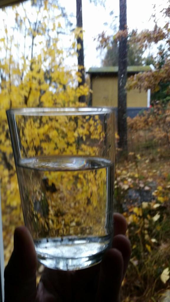 ettglasvatten